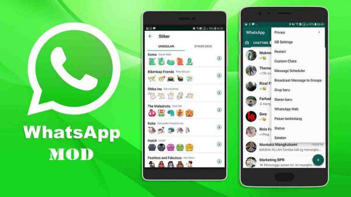 Aplikasi whatsapp MOD